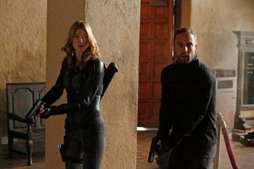 Bobbi and Hunter - Agents of S.H.I.E.L.D.