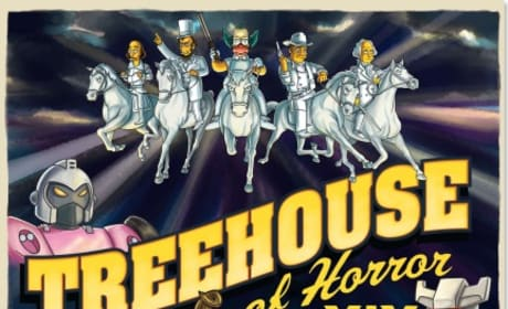 Treehouse of Horror XIX