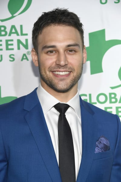 Ryan Guzman Attends Party