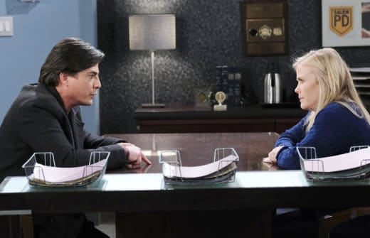 Sami Tells Lucas the Truth - Days of Our Lives
