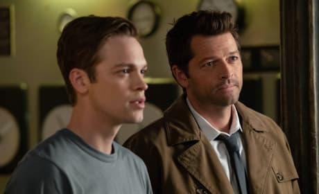 Castiel And Jack - Supernatural Season 14 Episode 3