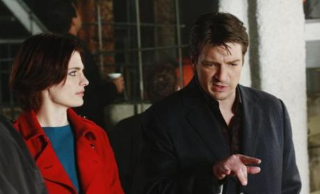 Castle and Beckett Photo
