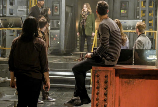 Team Meeting - The Flash Season 3 Episode 15