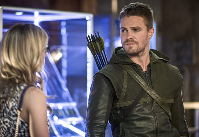 Dropping By - Arrow Season 3 Episode 4