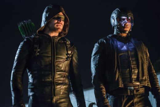 The Dynamic Duo - Arrow Season 6 Episode 2