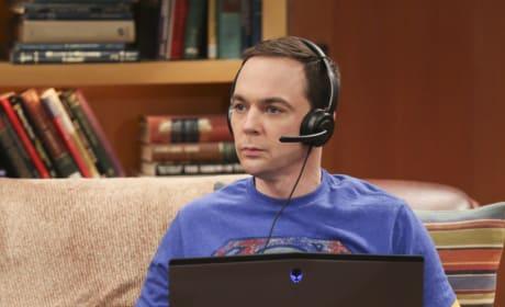 Sheldon Loves His Game - The Big Bang Theory Season 10 Episode 22