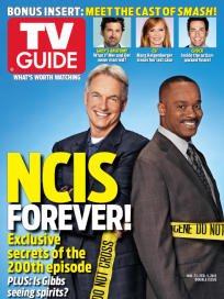 NCIS TV Guide Cover #1