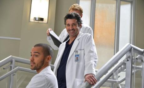Smiling Derek