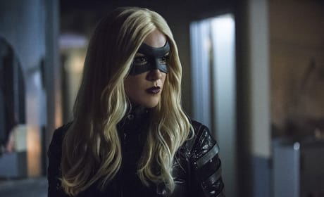 Black Canary Up Close - Arrow Season 3 Episode 12