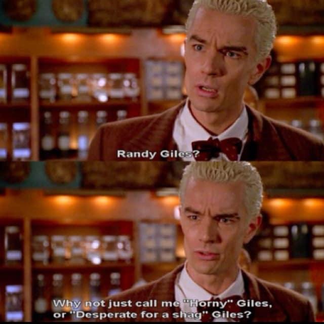 "Buffy the Vampire Slayer Season 6 episode 8, ""Tabula Rasa"""