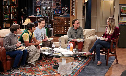 The Big Bang Theory Review: Star Wars Apparition