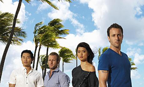 Hawaii Five-0 Cast Photo