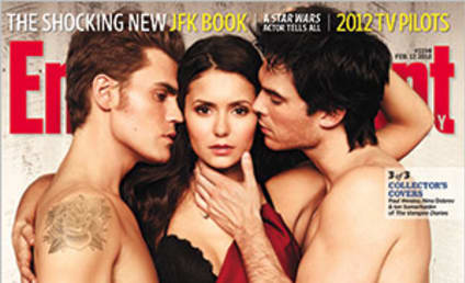 Holy Hotness: Vampire Diaries Stars Cover EW