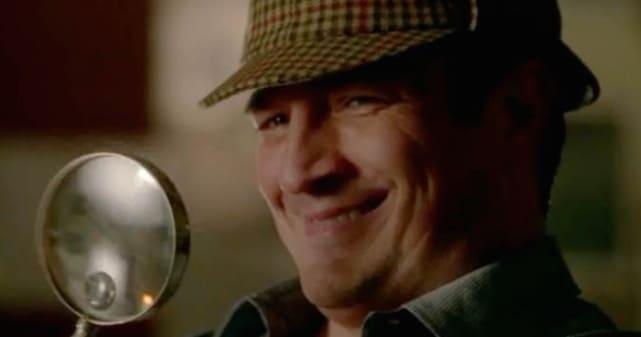 Castle Plays Sherlock