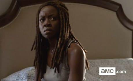 Michonne in Alexandria - The Walking Dead