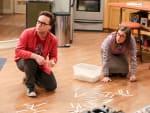 Leonard and Amy Bond - The Big Bang Theory