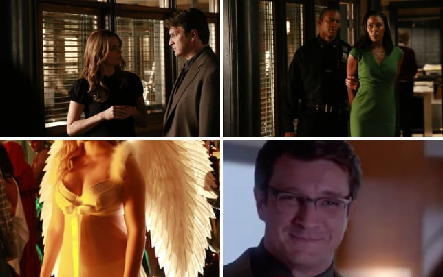 Caskett interaction castle s8e3