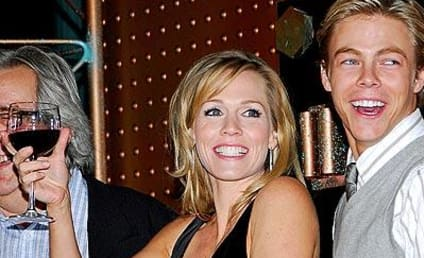 Cheers to Jennie Garth and Derek Hough!