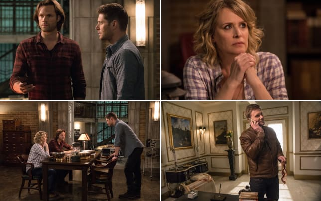 Sam and dean take a phone call supernatural season 12 episode 23