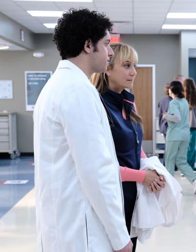 Ezra and Eline  - The Resident Season 3 Episode 11