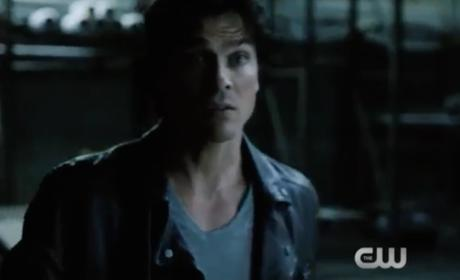 Possessed Damon - The Vampire Diaries Season 8 Episode 1