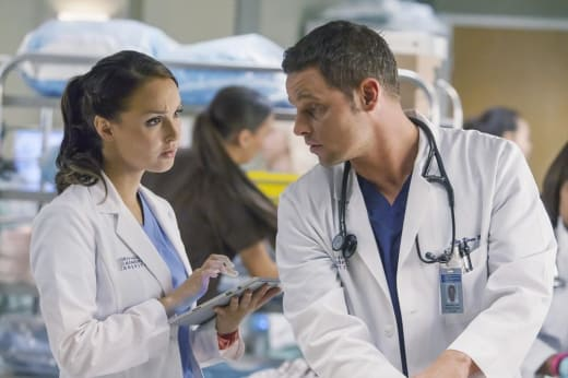 Jo and Alex - Grey's Anatomy Season 11 Episode 9