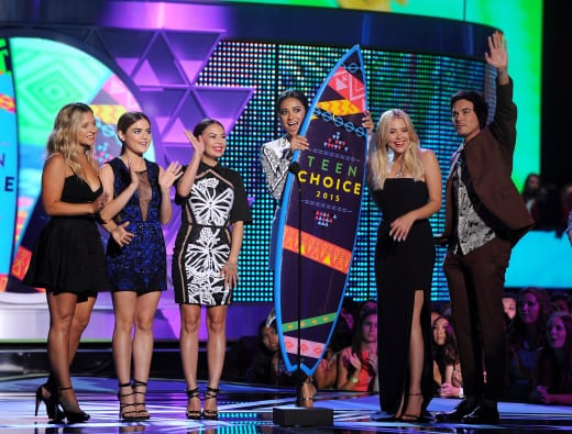 PLL Teen Choice Winners!