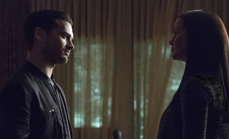 Enzo vs. Lily - The Vampire Diaries Season 7 Episode 5