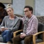 Penny and Leonard Look Confused - The Big Bang Theory Season 10 Episode 11