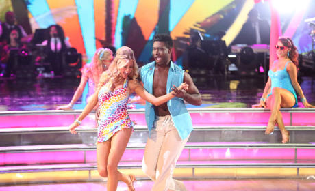 Charlotte and Keo: Cha Cha - Dancing With the Stars Season 20 Episode 2