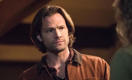 Sam is uneasy - Supernatural Season 12 Episode 23