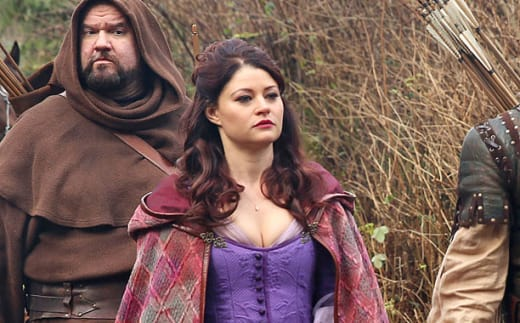 Belle on Once Upon a Time