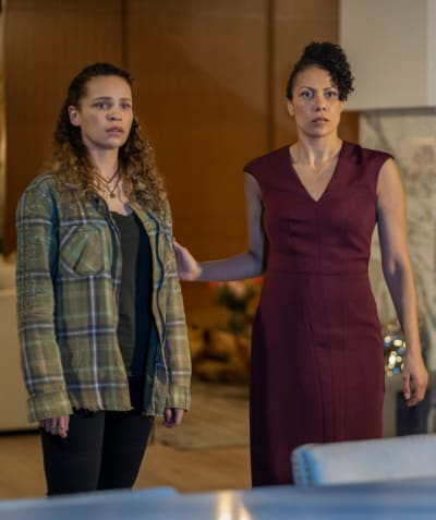Callie and Gemma Find Out A Secret - The 100 Season 7 Episode 8