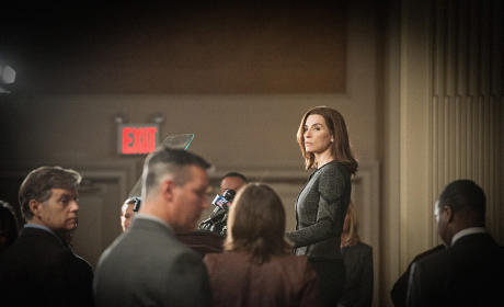 Alicia Resigns - The Good Wife