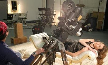 Ellen Pompeo in TV Guide, V
