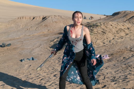 Alicia Warrior - Fear the Walking Dead Season 2 Episode 3