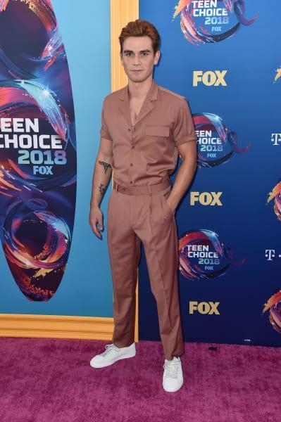 KJ Apa Attends Teen Choice Awards - Riverdale