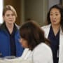 Mer and Cristina Looking Concerned