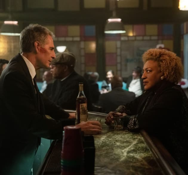 Sharing a Drink - NCIS: New Orleans Season 5 Episode 11