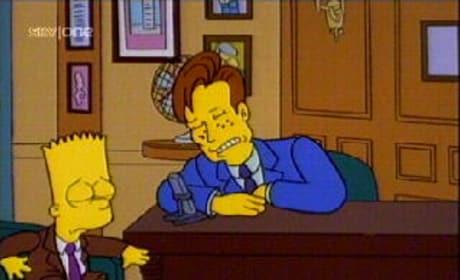 Conan O'Brien on The Simpsons