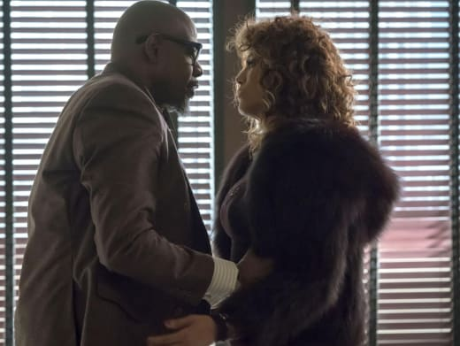 Eddie and Giselle - Empire Season 4 Episode 17