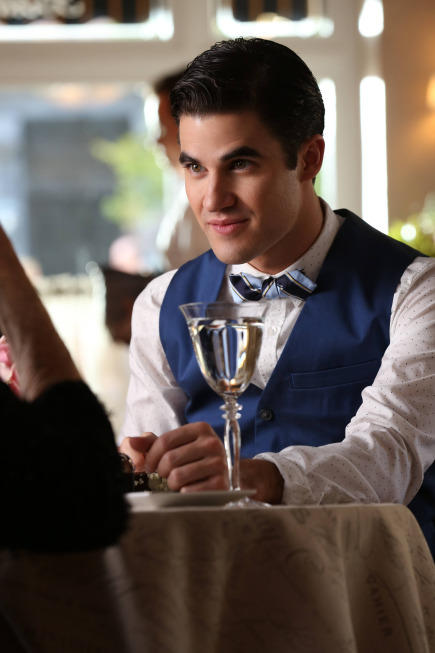 Blaine at Dinner
