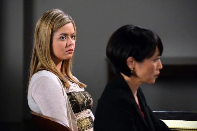 Alison in Court - Pretty Little Liars