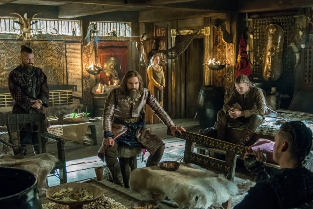 Rollo and Ivar - Vikings Season 5 Episode 11