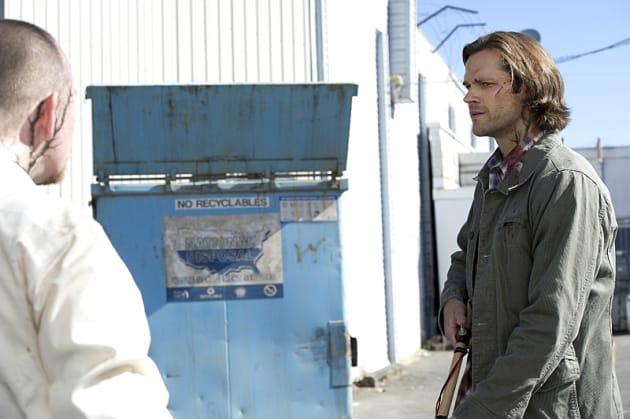 Sam vs. the infected - Supernatural Season 11 Episode 2