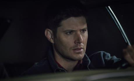 Dean keeps his eyes on the road - Supernatural Season 12 Episode 21