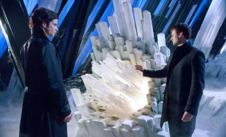 Clark with Zod