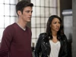 Barry and Iris - The Flash Season 2 Episode 11
