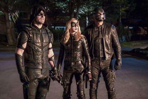 Looking Up - Arrow Season 4 Episode 12