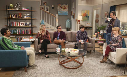 The Big Bang Theory Photo Preview: Raj is Moving Where?!